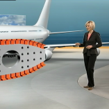 """A380 -Risse"", heute 19Uhr, 08.02.2012, Moderation Petra Gerster, © ZDF"