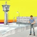 """""""Berliner Mauer"""", logo!, 13.08.2011 Moderation Tim Schreder, © ZDF"""
