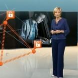 """Cyberangriff"", heute 19Uhr, 16.06.2011, Moderation Petra Gerster, © ZDF"