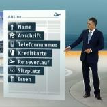 """""""Fluggastdatenspeicherung"""", heute 19Uhr, 19.04.2012, Moderation Matthias Fornoff, © ZDF"""