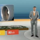 """Fluglärm"", heute 19Uhr, 24.03.2012, Moderation Matthias Fornoff,  © ZDF"