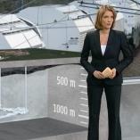 """Gorleben"", heute journal, 24.11.2011, Moderation Marietta Slomka, © ZDF"