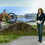 """Pedelec"", Mittagsmagazin, 23.03.2012, Moderation Susanne Conrad,  © ZDF"