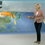"""Raketentest Nordkorea"", heute 19Uhr, 13.04.2012, Moderation Petra Gerster,  © ZDF"