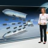 """Streubomben"", heute journal, 22.03.2012, Moderation Marietta Slomka,  © ZDF"