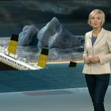 """Titanic"", heute 19Uhr, 14.04.2012, Moderation Petra Gerster,  © ZDF"