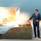 """trockener November"", heute 19Uhr, 23.11.2011, Moderation Matthias Fornoff, © ZDF"