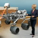 """Curiosity"", heute 19Uhr, 06.08.2012, Moderation Petra Gerster,  © ZDF"