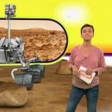 """""""Curiosity"""", logo, 06.08.2012, Moderation Anja Roth,  © ZDF"""