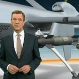 """""""Drohnen"""", heute journal, 08.02.2013, Moderation Claus Kleber, © ZDF"""