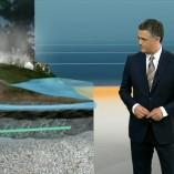 """Fracking"", heute 19Uhr, 25.06.2012, Moderation Matthias Fornoff,  © ZDF"