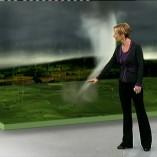 """Tornado"", Mittagsmagazin, 25.07.2012, Moderation Katja Horneffer,  © ZDF"