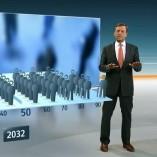 """""""Demografie"""", heute journal, 10.10.2012, Moderation Claus Kleber, © ZDF"""