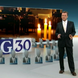 """G30"", heute journal, 06.12.2012, Moderation Claus Kleber, © ZDF"