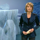 """Polarstern"", heute journal, 30.01.2013, Moderation Marietta Slomka, © ZDF"