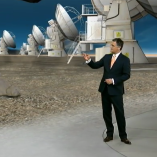 """Alma Teleskop″, heute 19Uhr, 14.03.2013, Moderation Matthias Fornoff, © ZDF"