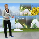 """Später Frühling"", Mittagsmagazin, 16.04.2013, Moderation Katja Horneffer, © ZDF"