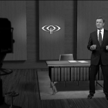 """Retrostudio"", heute journal, 09.08.2013, Moderation Claus Kleber, © ZDF"