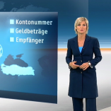 """SWIFT"", heute 19Uhr, 23.10.2013, Moderation Barbara Hahlweg, © ZDF"