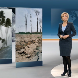 """Klimakonferenz"", heute 19Uhr, 20.11.2013, Moderation Petra Gerster, © ZDF"